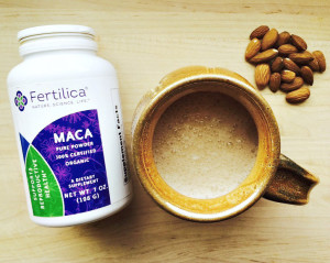 Hot Maca Milk Fertility Recipe