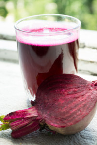 Beet Juice to Improve Circulation to the Uterus
